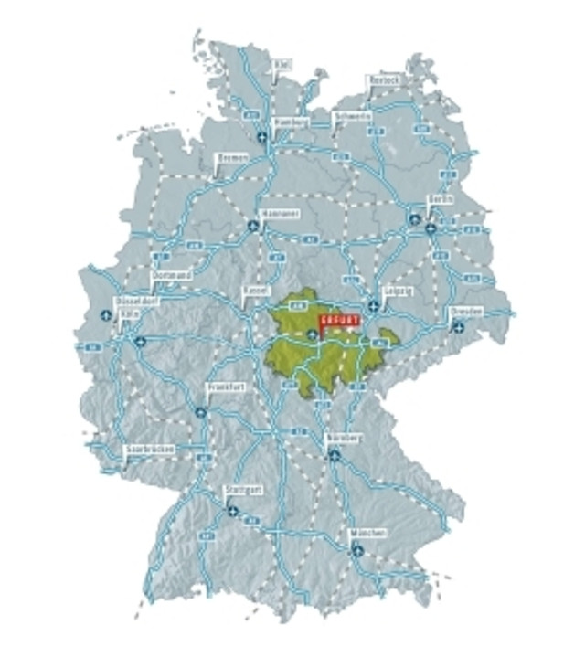 Location And Travel Information Erfurt Tourismus